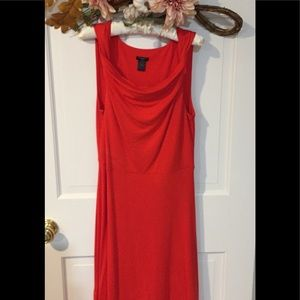 Ann Taylor Rayon dress w/ Spandex for Awesome Fit
